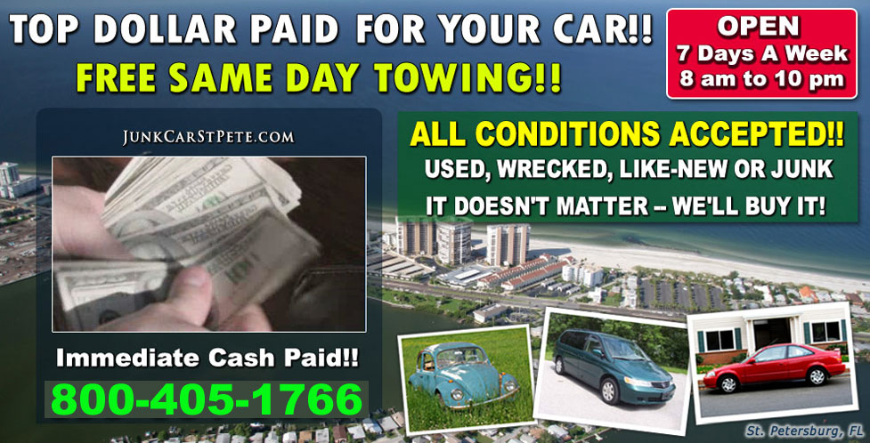 Get Online Quote | Junk Car St Pete